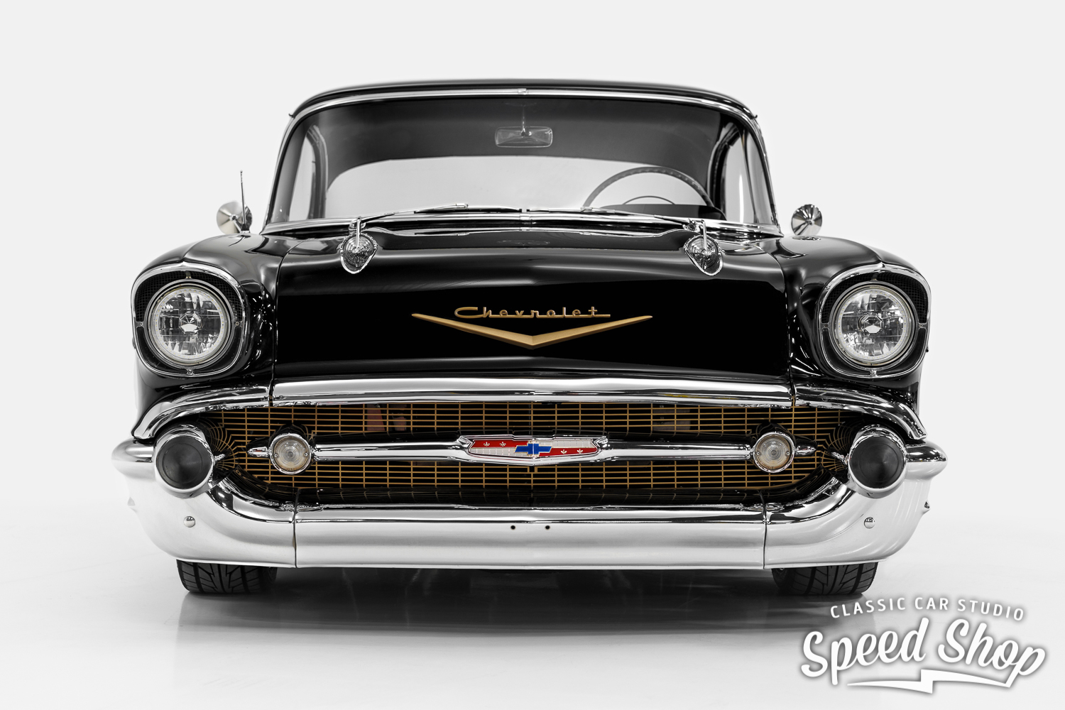 1957 Chevrolet Bel Air Ccs Speed Shop