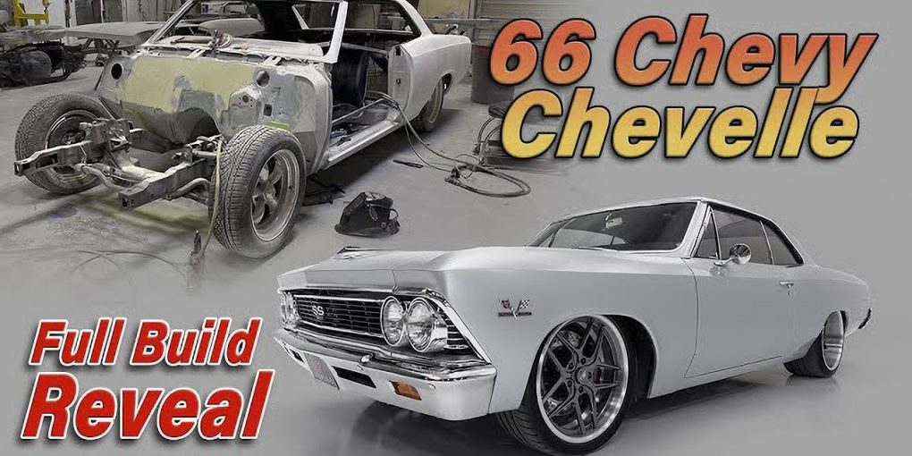 Building the 66 Chevelle in Under 10 Minutes || Finished Reveal-Enhanced