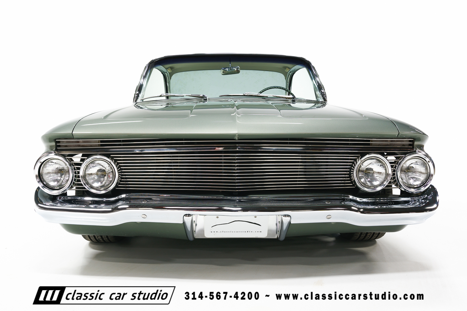 1961 Chevrolet Impala Classic Car Studio 1968 Custom Coupe 61 3
