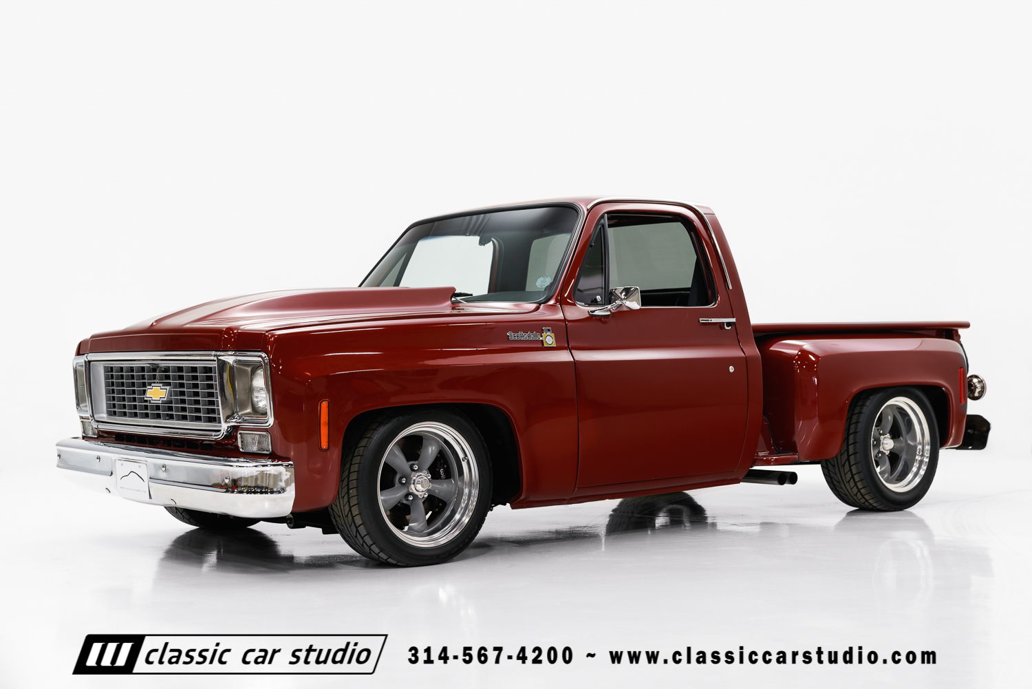 1976 Chevrolet C10 Classic Car Studio Chevy Custom Deluxe Truck 78 1
