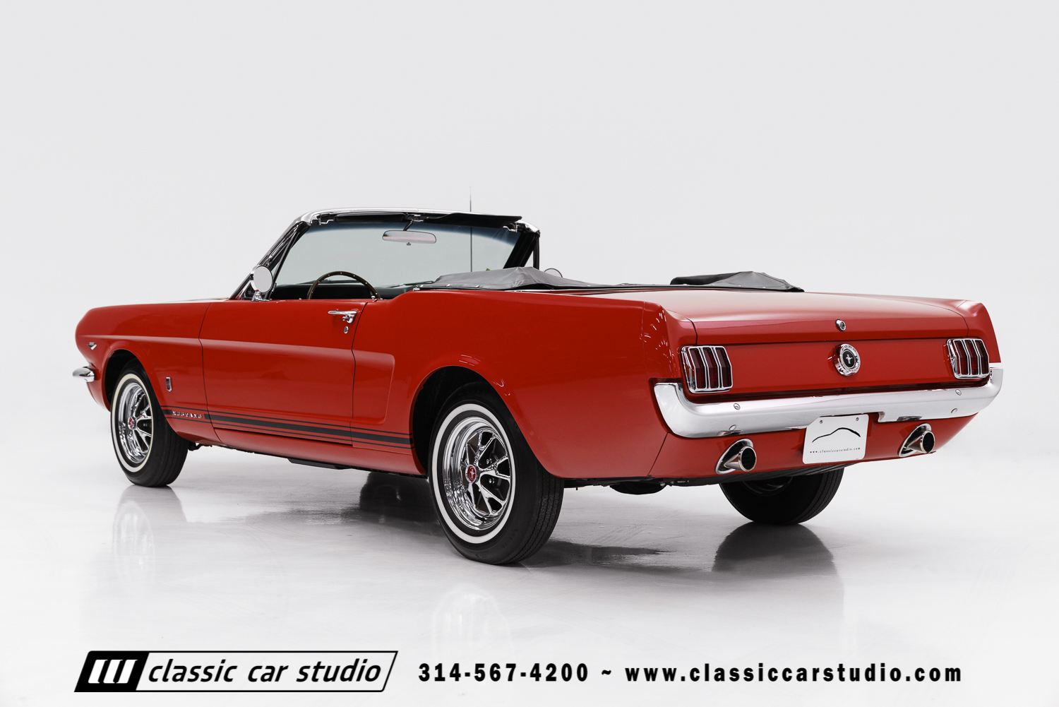 Ford Mustang Gt Convertible 2017 >> 1965 Ford Mustang GT | Classic Car Studio
